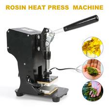 Rosin Heat Press Machine Lcd Heat Press Transfer With Dual Heated Plates 2x3
