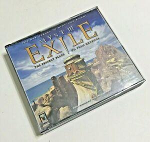 Myst III: Exile (Windows/Mac, 2001) 4 CD-ROM Disks & Manual Vintage Video Game