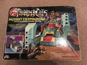 Thundercats Mutant Fistpounder Loose W / box Vintage 1986