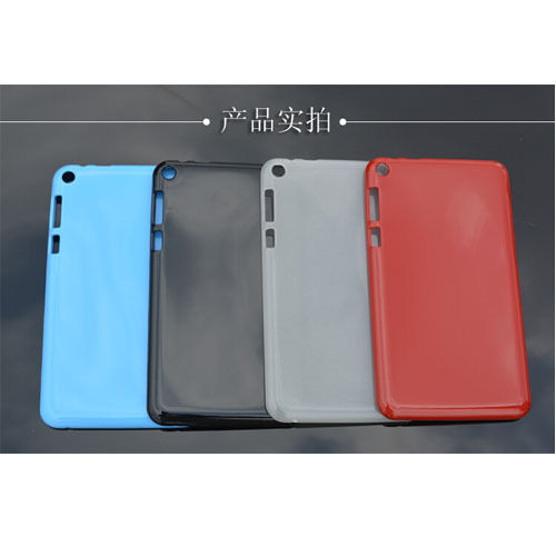 """ZC1 TPU Gel Rubber Soft Case Cover For 8"""" Asus FonePad 8 FE380CG Tablet"""