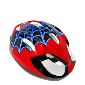 Kinder-Fahrradhelm-Disney-Spiderman-verstellbar-51-55-cm-TUV-GS-Fahrrad-Helm