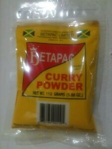 CURRY POWDER, JAMAICAN BETAPAC CURRY - FROM JAMAICA -108G / 3.84 OZ
