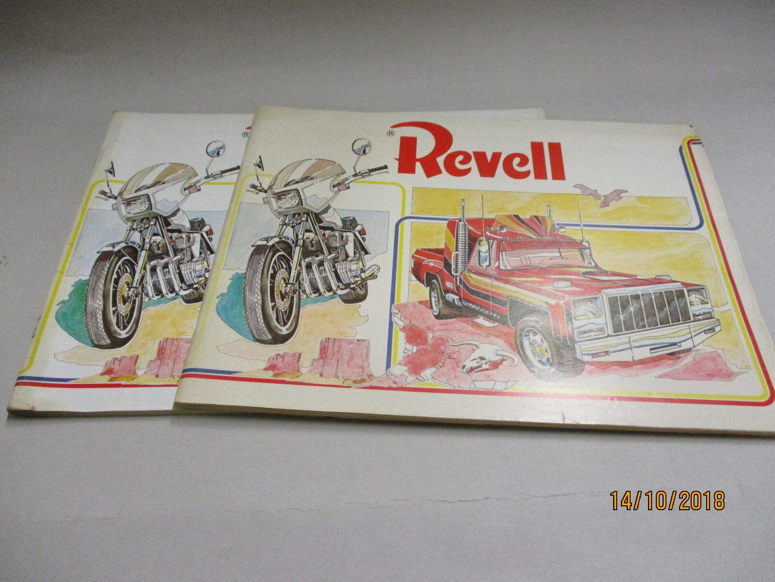 Revell Modèle Kits catalogue 1980 avec liste de prix 1 1980
