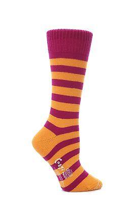Ladies 1 Pair Corgi Cashmere and Cotton Tipped Socks