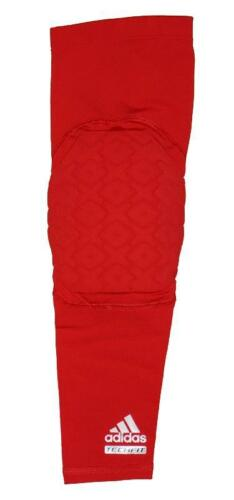 Adidas Techfit Men/'s Basketball Padded Compression Arm Elbow Sleeve Red