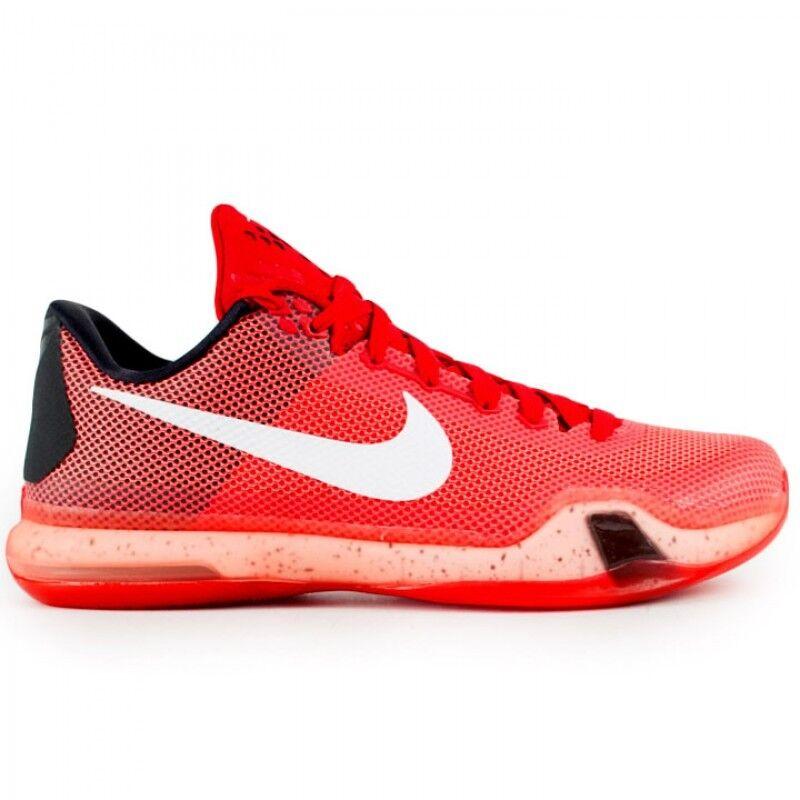 Nike Kobe 10 Majors University Red Men's Basketball Shoes Size 9.5