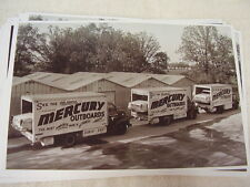 1955 CHRYSLER 300 MERCURY RACE TEAM CARS ON TRUCKS    11 X 17  PHOTO   PICTURE