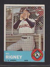 1963 Topps Bill Rigney #294 Baseball Card