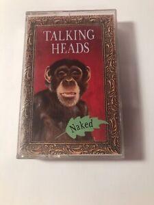 Talking Heads Naked Cassette Tape Pysch Rock