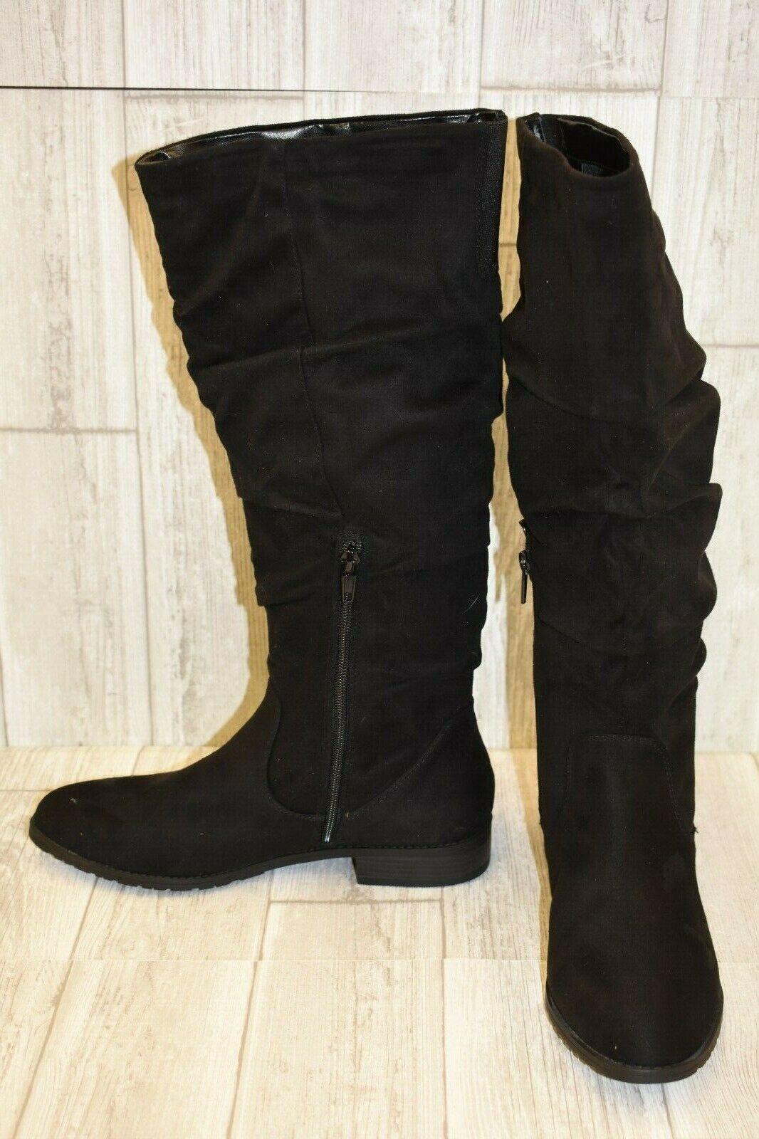 Unisa Sola Tall Boots - Women's Size 9 9.5 M - Black
