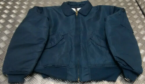 Military Cwu Us bikers Sizes All Mod New Blue Bomber Style Jacket scooter Ma2 dREqFwE