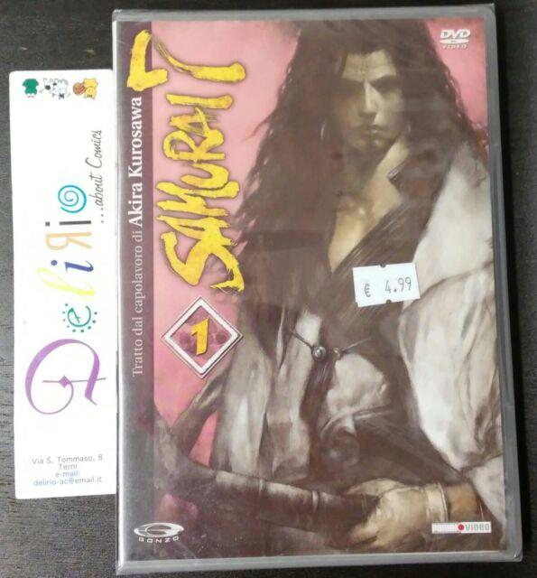 DVD SAMURAI 7  N.1   Ed. PANINI VIDEO  OFFERTA SPECIALE!