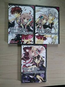Kiss-of-the-Rose-Princess-1-3-Lot-of-3-Shojo-Manga-English-13-Aya-Shouoto