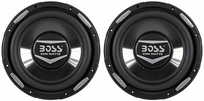 "(2) Boss Audio Armor AR10D 10"" 4400 Watt Dual 4 Ohm Subwoofers Car Audio Subs"