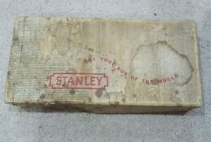 Vintage Stanley No 78 Rebate Plane in Rare Stanley Tools of the World Box