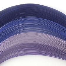 100 QUILLING strisce carta autoadesivo in sfumature di viola-larghezza 3mm