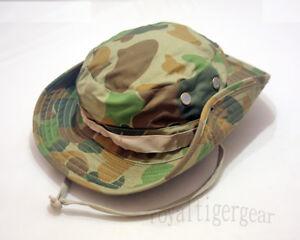 9ac53fe8821 AUSCAM Australia Army DPCU Woodland Camo Boonie Bush Hat Cap Cover ...
