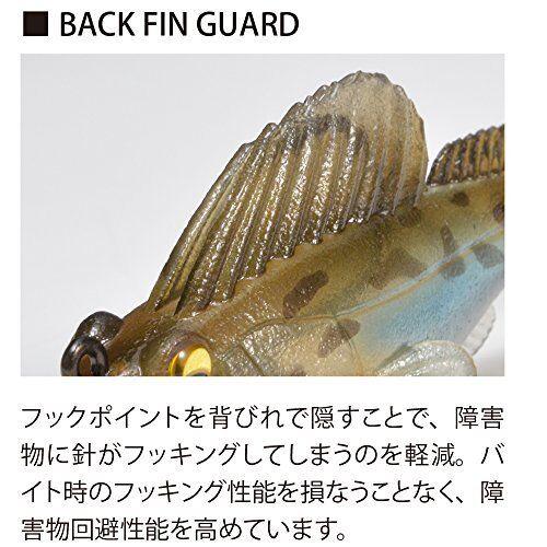 Sinking type 35803 Megabass BiwakoYoshionobori Lure Dark Sleeper 3inch 3//8oz