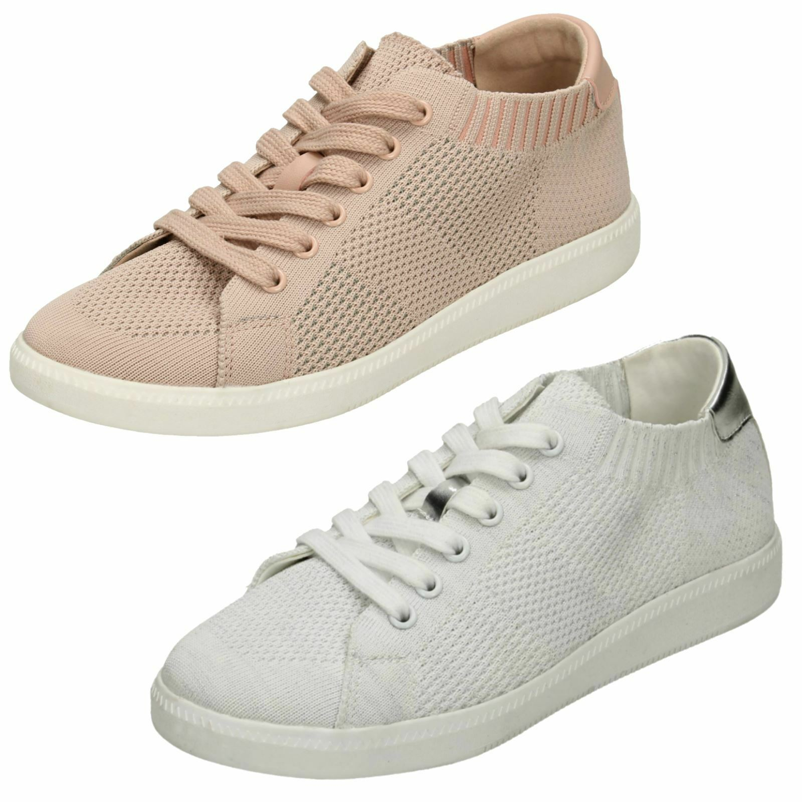 Ladies F7R094 Casual Lace Up Trainer By Reflex
