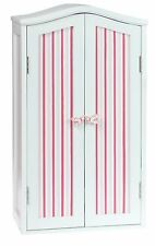 Laurent Doll 18 inch Doll Armoire Pink Stripes American Girl Furniture Storage