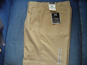 Mens Shorts PERRY ELLIS Size 34 KHAKI NWT