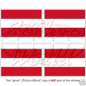 österreich Flagge österreichische Fahne 50mm Vinyl Sticker Aufkleber