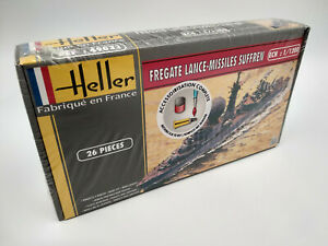 Maquette-a-monter-bateau-fregate-lance-missile-Suffren-Heller-echelle-1-200
