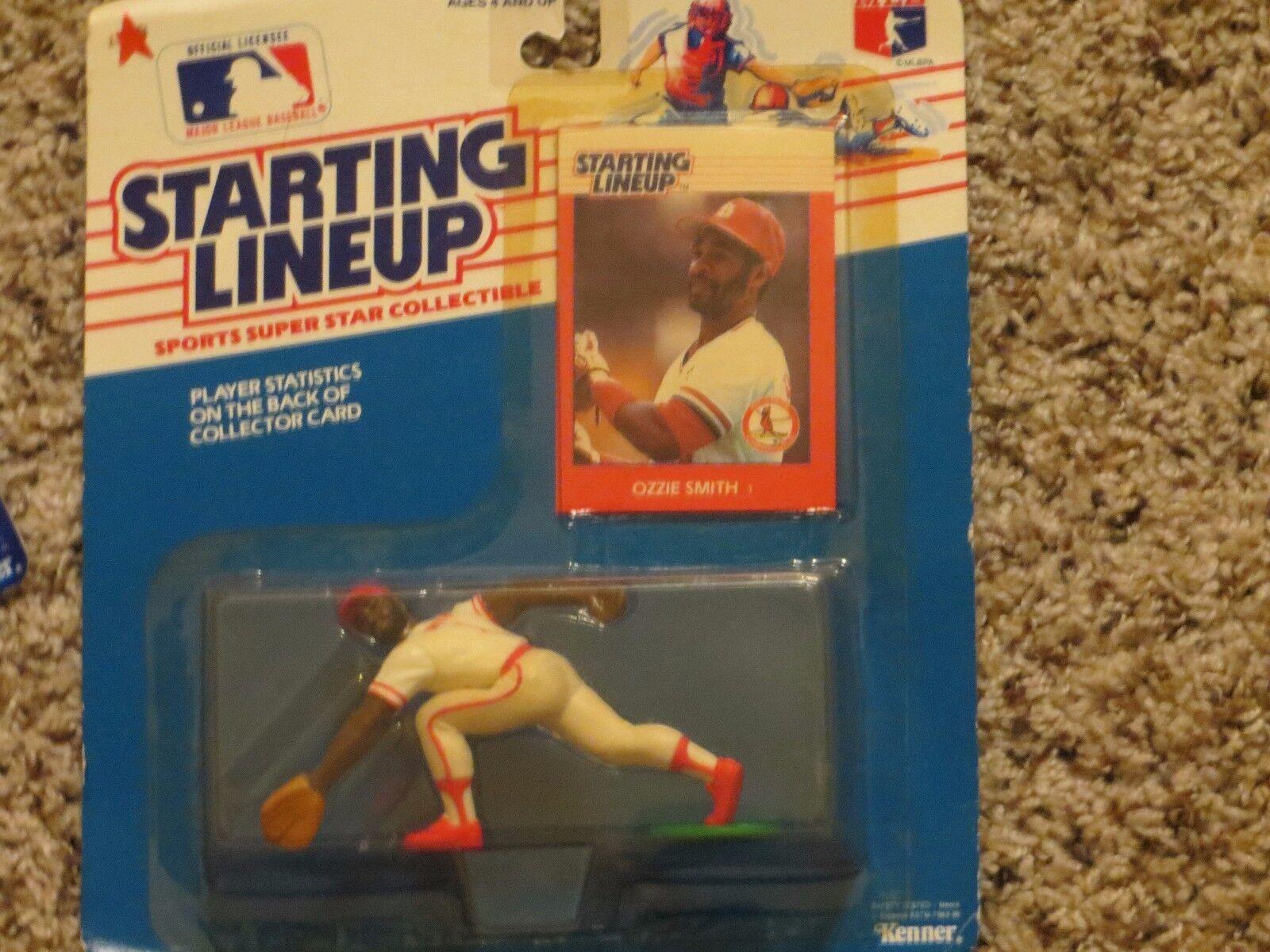1988 Ozzie Ozzie Ozzie Smith Starting Lineup baseball  rookie St. Louis Cardinals 340f7e