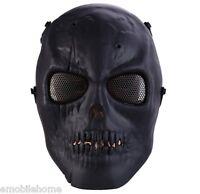Skull Airsoft Paintball Bb Gun Full Face Protection Mask Shot Helmets