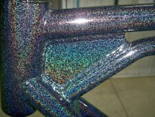 Higloss Sparkle Holographic Black Powder Coat Paint 6lbs27kg Free Shipping