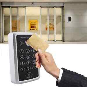 125Khz 12V RFID Entry Door Reader Card Keypad Mini ID Access Control Controller