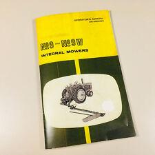 Operators Manual For John Deere 9 9w Integral Mower Sickle Bar Hay Instruction