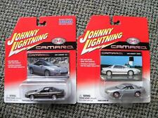 1998 CHEVY CAMARO COUPE & 2001 CHEVY CAMARO SS  JOHNNY LIGHTNING CAMARO SS  1:64