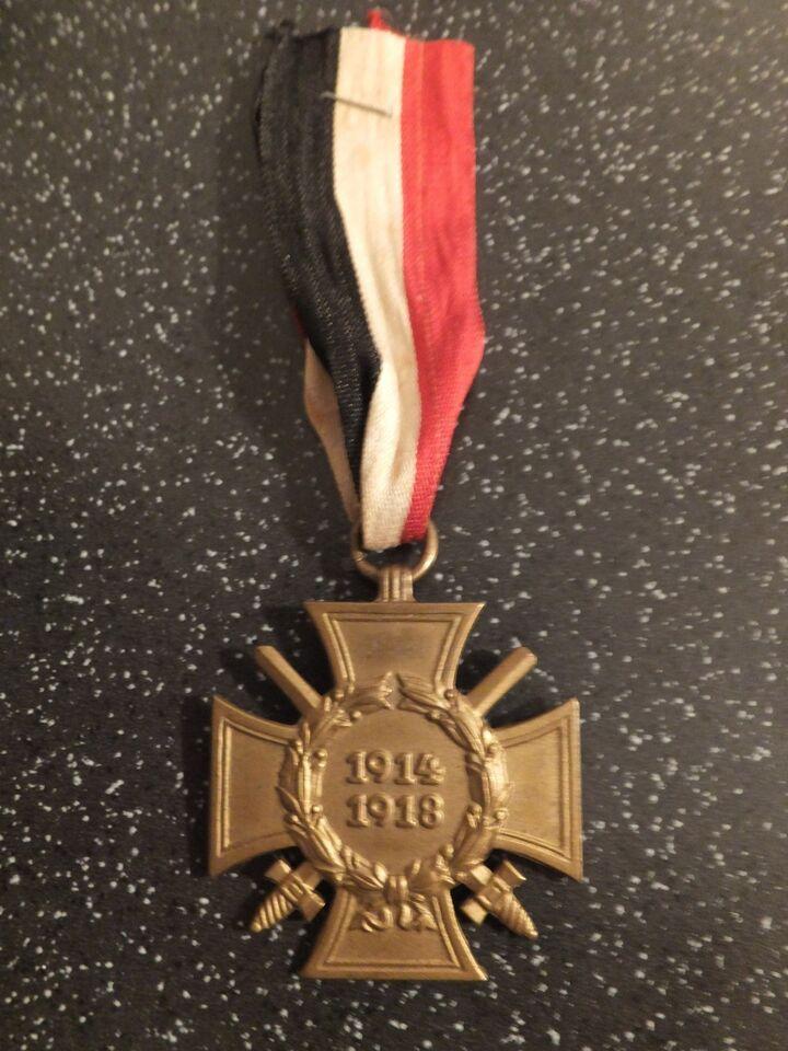 Medalje, Ehrenkreuz