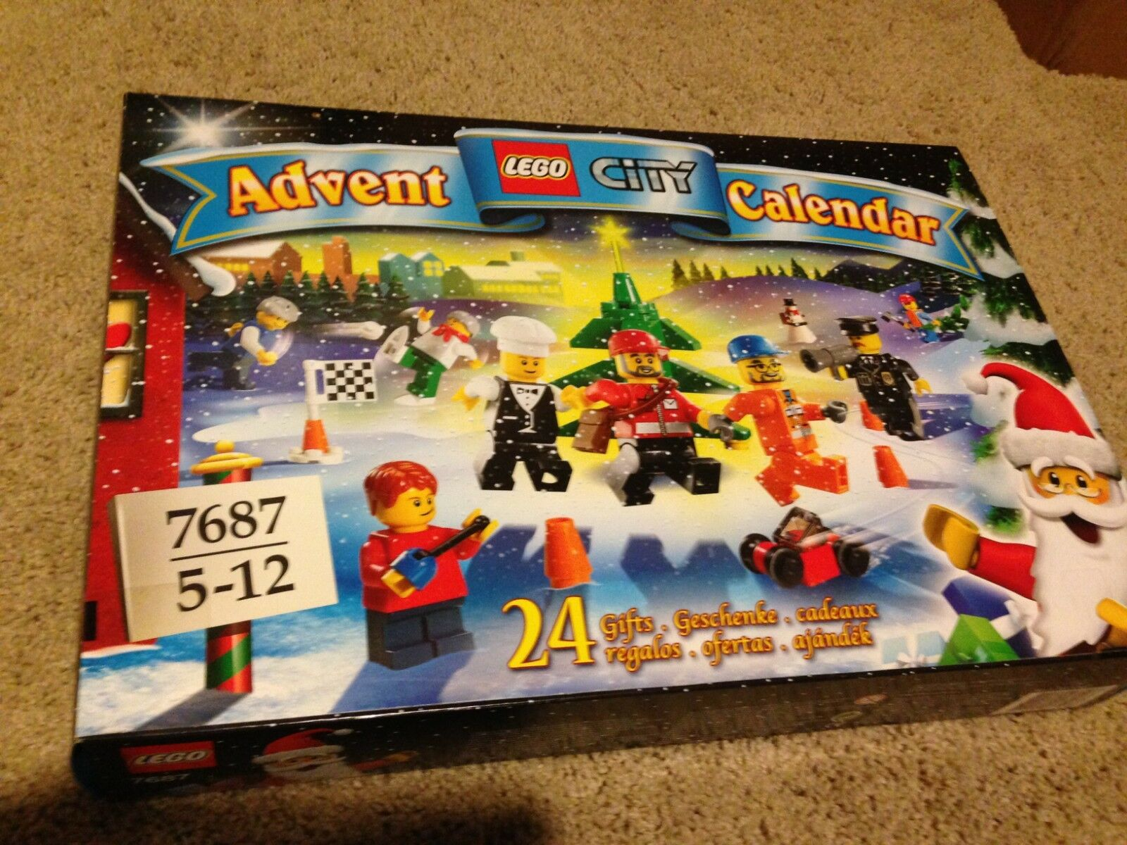 LEGO City Advent Calendar 2009 (7687) (7687) (7687) 35a0b6