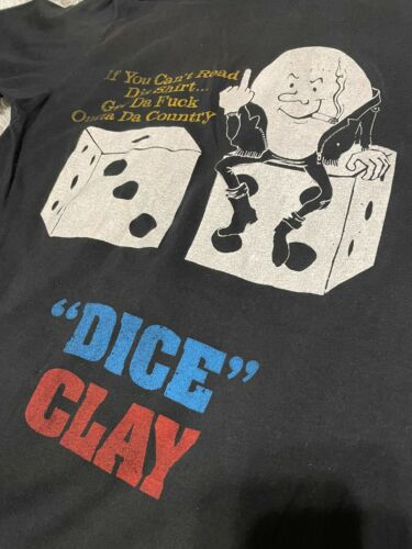 RARE Vintage 1980s Andrew Dice Clay Concert T Shir