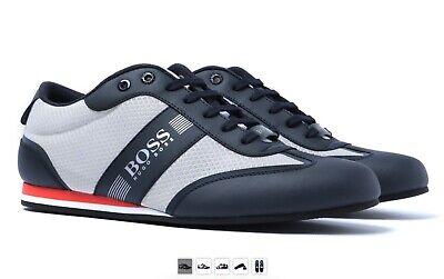 Hugo Boss Men/'s Lighter Low-Top Trainers Sneakers Shoes