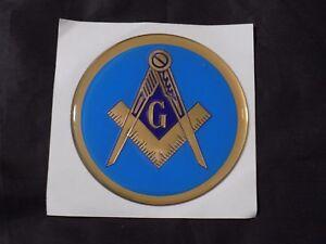 Masons Freemason Symbol Decal Sticker FREE SHIPPING Compass Square Fraternity