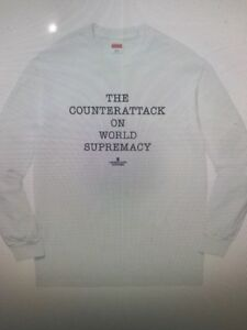 9c389c9a206b Image is loading Supreme-Undercover-Public-Enemy-Counterattack-L-S -White-Size-