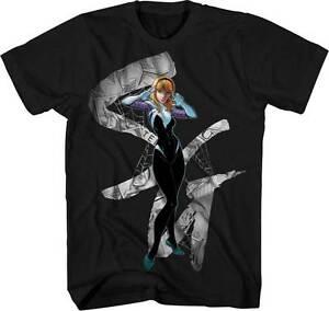Marvel-Comics-Spider-Gwen-Logo-Mens-Shirt-Spiderman-Stacy-Web