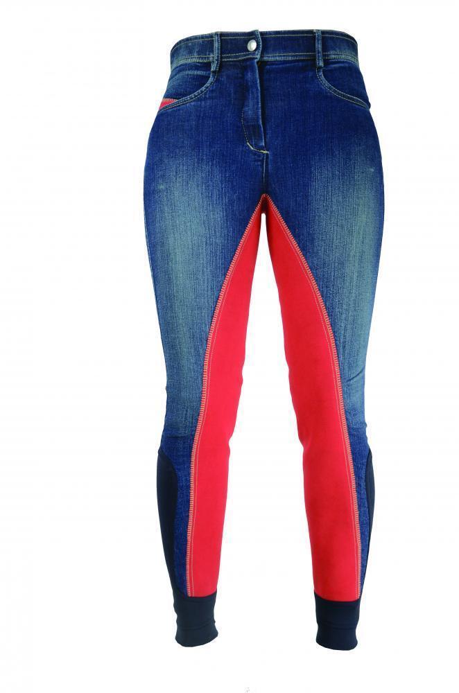 Hyperformance RUGBY Denim Donna Pantaloni