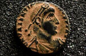Valentinian-I-364-375-AD-GLORIA-ROMANORVM-E-Ancient-Roman-bronze-Coin