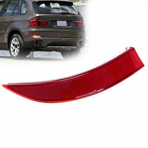 Right Rear Bumper Reflector Light Cover fit for BMW X5 E70 LCI 2011 2012 2013