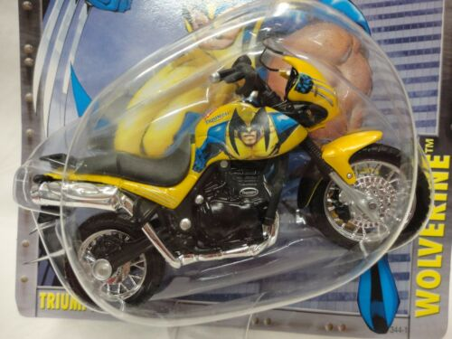 Wolverine Triumph Tiger M5 Maisto Ultimate Marvel Motorcycle Collection