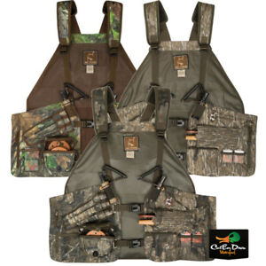 671d616d27929 DRAKE WATERFOWL OL TOM TIME AND MOTION EASY RIDER CAMO TURKEY VEST ...