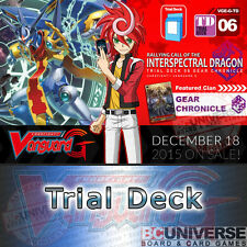 G-TD06: Rallying Call of the Interspectral Dragon - Cardfight Vanguard G Trial D