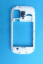Original Samsung Galaxy S3 Mini Chasis marco Carcasa Bisel-Blanco gi8190
