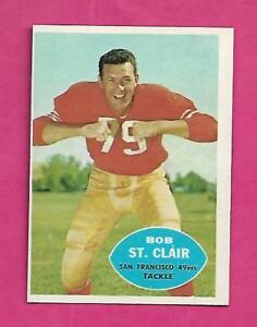 1960-TOPPS-118-SAN-FRANCISCO-BOB-ST-CLAIR-EX-MT-CARD-INV-C0513