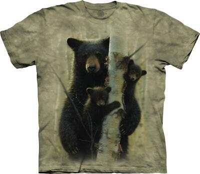 Find 13 Black Bears NWT The Mountain 100/% Cotton Kid/'s T-Shirt