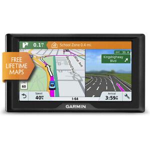 """Garmin Drive61LM 6"""" GPS Automobile Navigation System w/ Lifetime Maps & Alerts"""